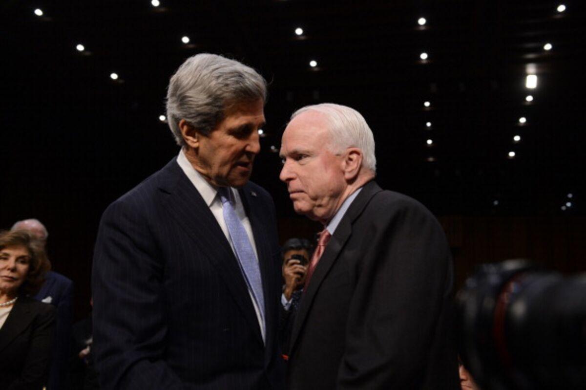 Kerry Tells Lawmakers He's for Arming Ukraine
