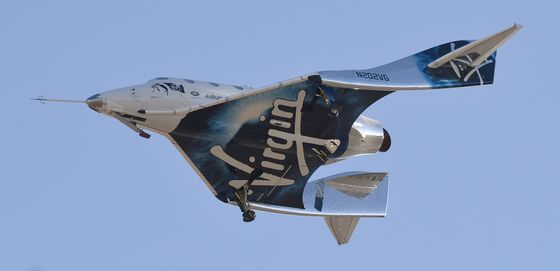 Virgin Galactic Unveils a Spaceship Cabin Fit for the Very Rich