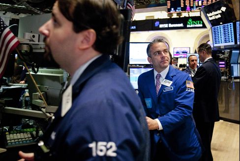 U.S. Stocks Gain, Commodities Erase Loss as Europe Concerns