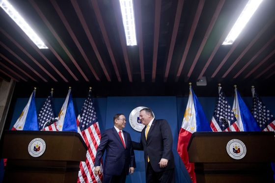 U.S. Will Be Philippines' Only Military Ally, Foreign Chief Says