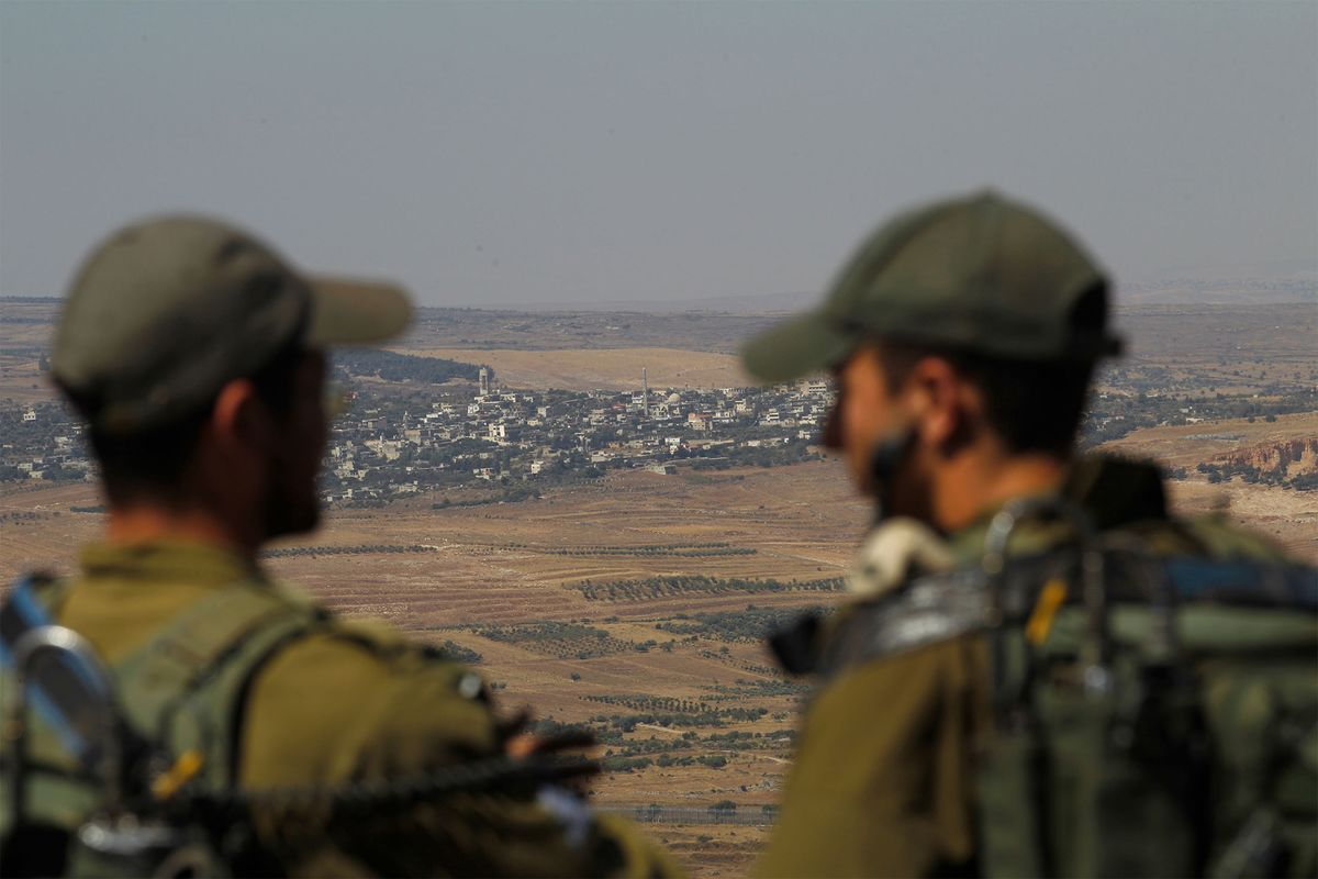 Israel Says It's Identified Hezbollah Cell in Syrian-Held Golan