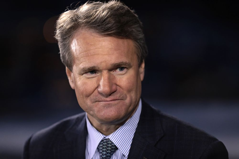 BofA Boosts CEO Brian Moynihan's 2018 Pay to Record $26 5