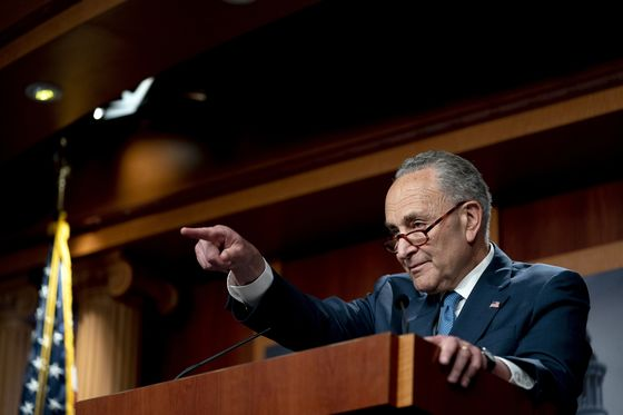 Schumer Prepares for Summer of Confrontation With Republicans