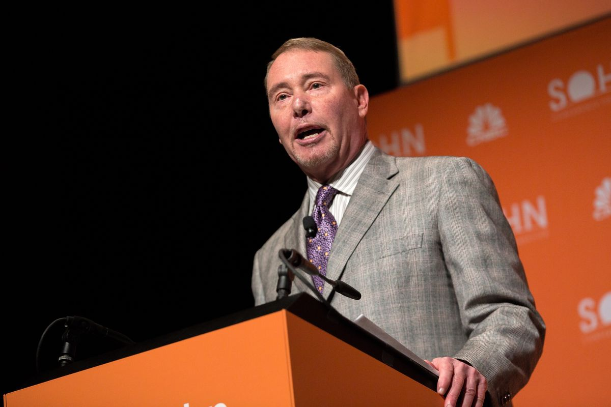 Gundlach Says Stocks to Fall Beyond Lows Reached in March