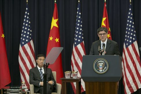 China's Wang Yang & U.S.'s Jacob Lew