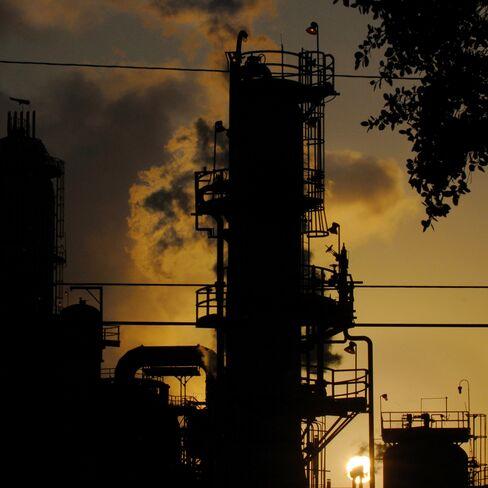 A refinery in Torrance, California