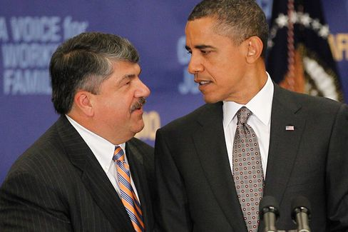 Obama's Union Allies Want a Big Obamacare Gift