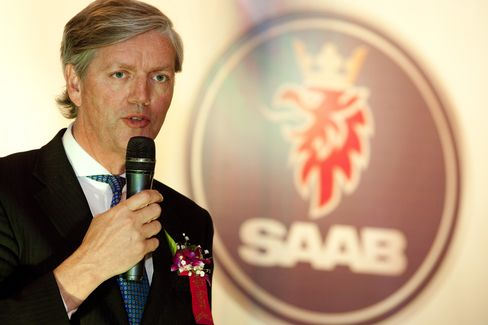 Saab Automobile Chief Executive Officer Victor Muller