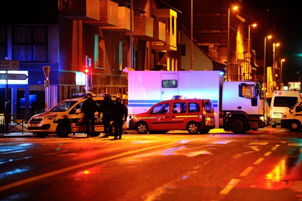 Strasbourg Christmas Market Shooting.Strasbourg Christmas Market Shooting Leaves At Least Four