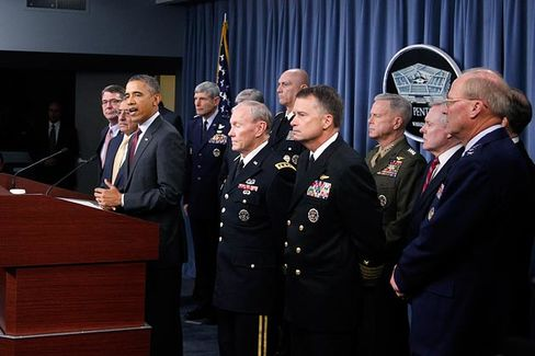 Obama???s Budget Rescues the Pentagon