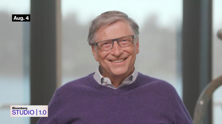 relates to Bloomberg Studio 1.0: Bill Gates