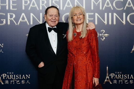 Adelson's Empire Passes to Widow, With His Longtime Lieutenant in Charge