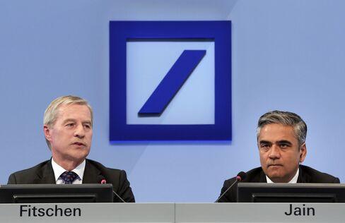 Deutsche Bank Overhaul Leaves Firm Trailing Peers on Capital