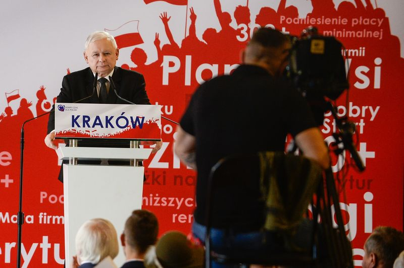 The Leader of Law and Justice Party, Jaroslaw Kaczynski
