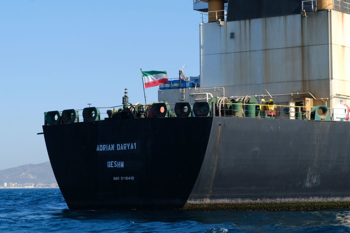 Iran Tanker the U.K. Detained May Be About to Offload Its Oil