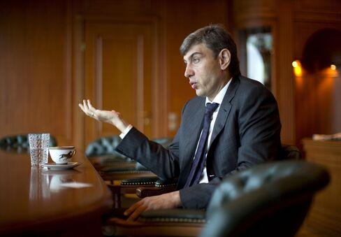 OAO Magnit Chief Executive Officer Sergey Galitskiy