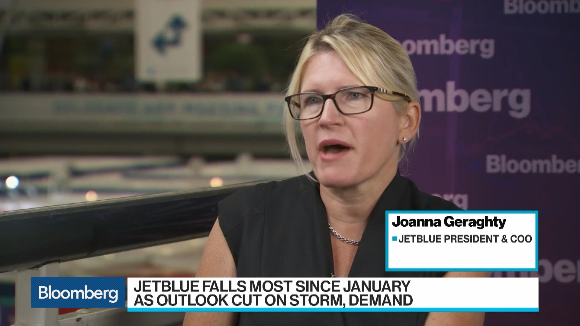 Jetblue Airways COO Joanna Geraghty on U.S. Demand, Transatlantic Service to U.K.