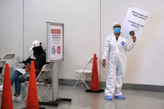 Welcome to Puerto Rico, Now Line Up for Your Virus Screening
