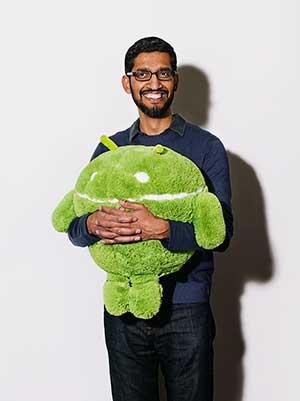 Exclusive: Sundar Pichai, Head of Google's Android, on Apple, Samsung, and Amazon
