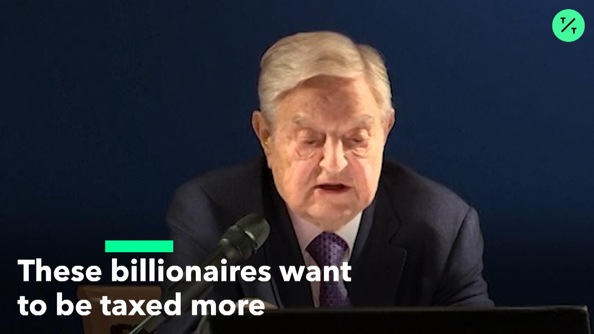 Billionaires Say They Want a Wealth Tax