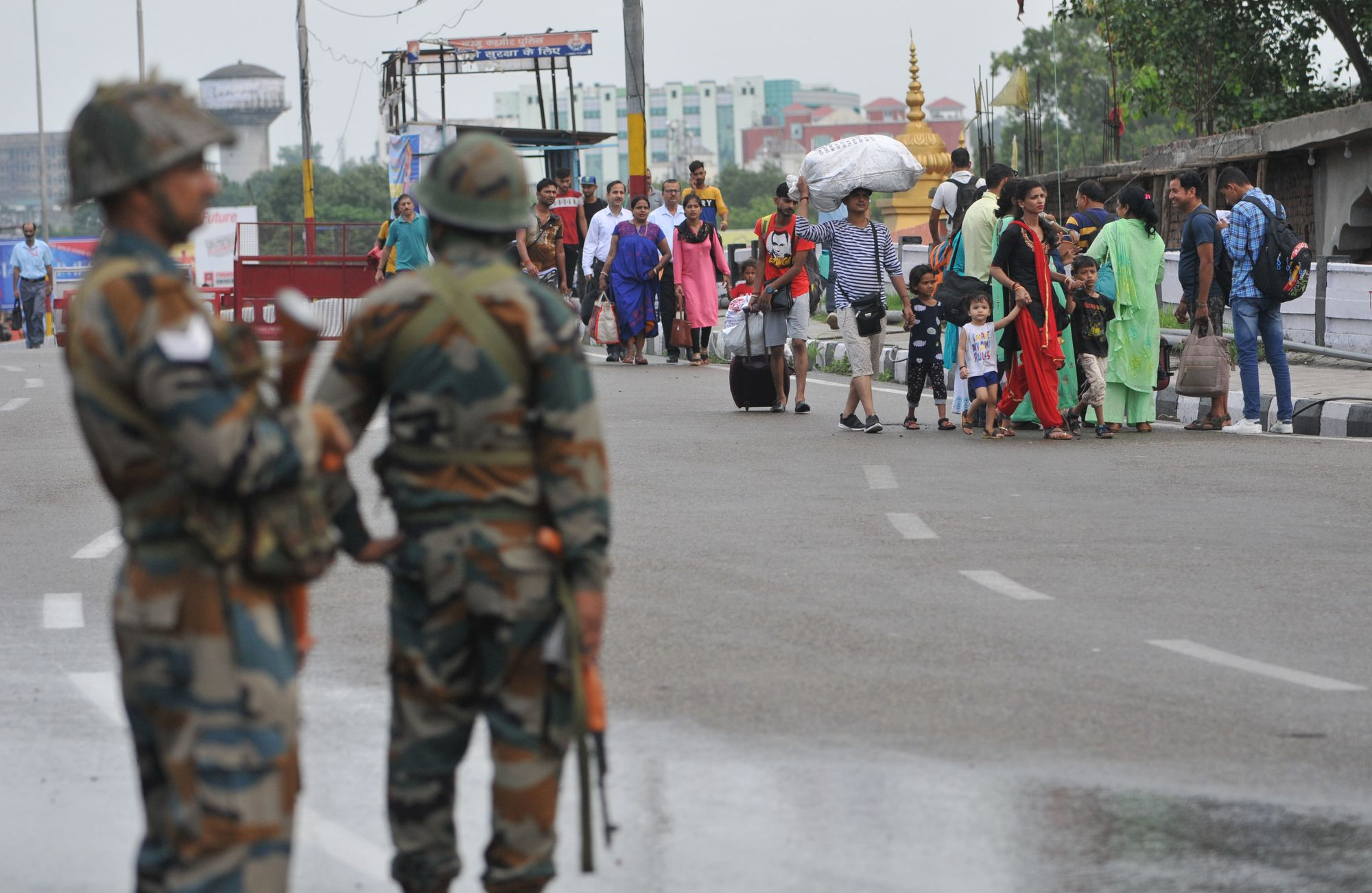 Restrictions Imposed In Several Districts Of Jammu And Kashmir