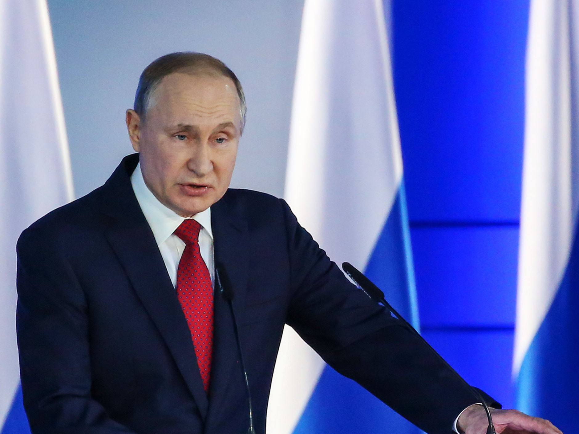 Putin Outlines Sweeping Powers For State Council In Shakeup Bloomberg
