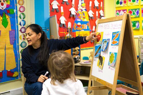 Child Care Centers Shut by Virus Foreshadow Lasting Economic Woe