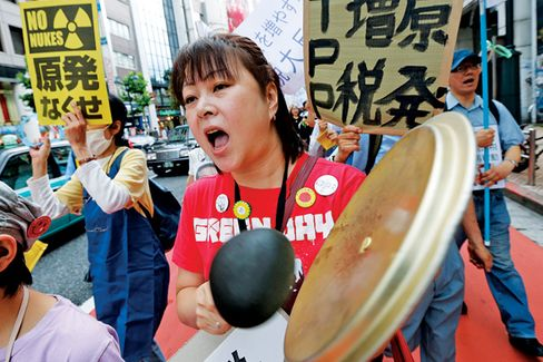 A Tax Revolt in Japan, and a Bond Bubble Too