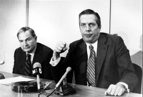 Willard C. Butcher former Chairman, CEO of Chase Manhattan Bank
