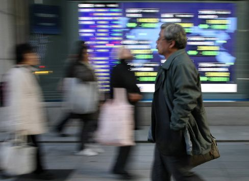 Most Asian Stocks Rise as Greece Optimism Tempers Lower Earn