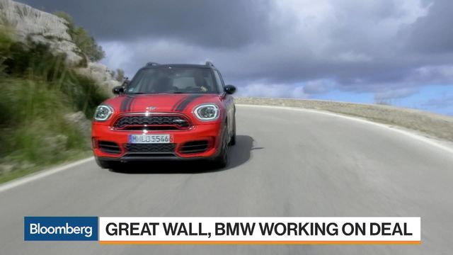 BMW, Great Wall in Talks to Roll Mini Into China