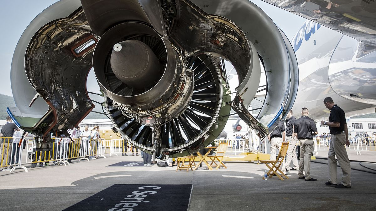 bombardier says korean air will get revised engine on c