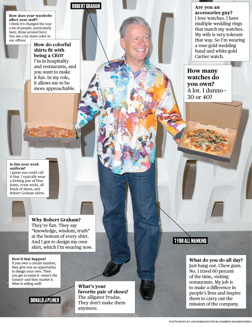 What I Wear to Work: California Pizza Kitchen CEO G.J. Hart ...