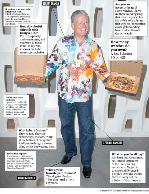 What I Wear to Work: California Pizza Kitchen CEO G.J. Hart