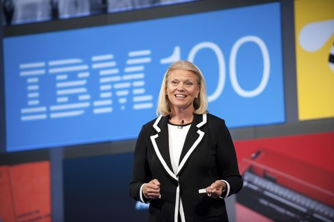 IBM's Ginni Rometty Completes Her Ascent by Adding Chairman Role