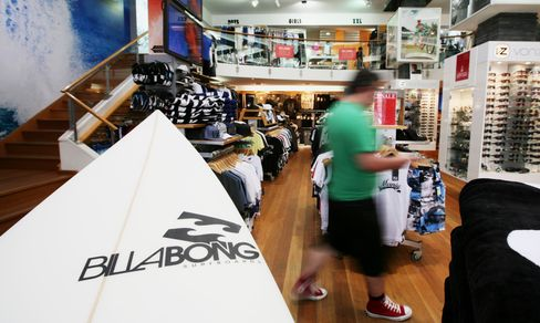 TPG Bids A$765 Million for Billabong, Driving Stock Up