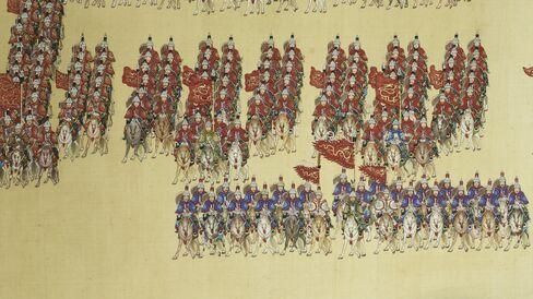 Chinese 18th-century painting
