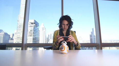Taking BB-8 for a test drive.
