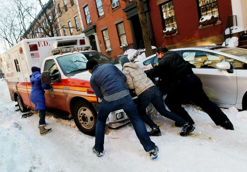 NYC Emergency Response 'Overwhelmed' by Blizzard