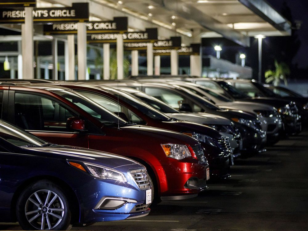 Carmakers Sell More To Rental Companies As Retail Demand Weakens Bloomberg