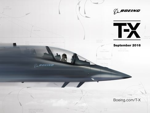 Boeing's new T-X trainer plane