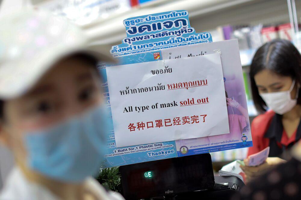 corona virus in bangkok thailand