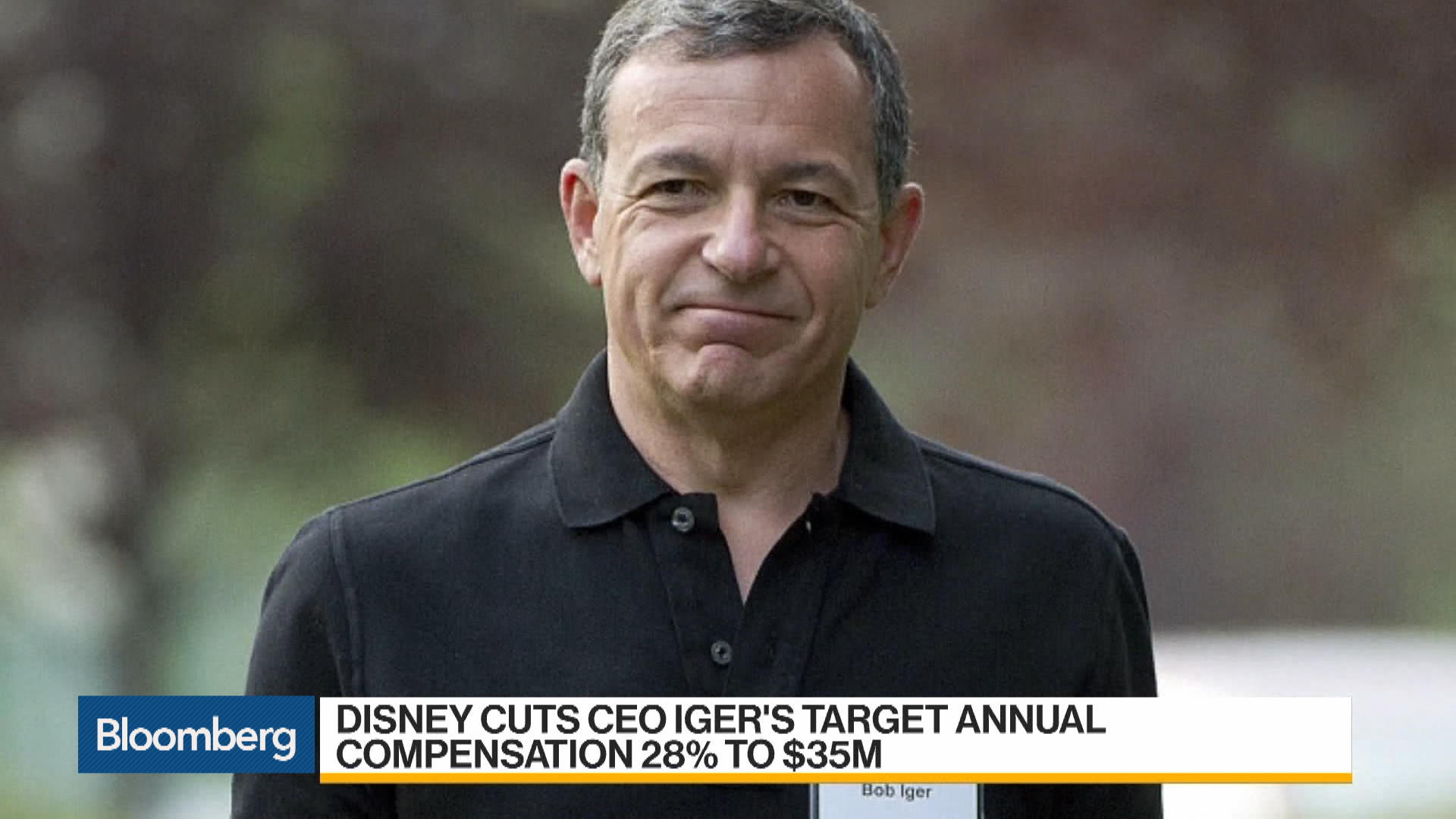 Disney Cuts Iger's Future Pay by Millions