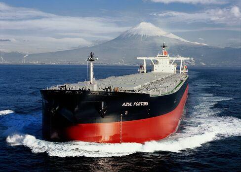 A Mitsui O.S.K. Lines Ltd. dry-bulk cargo