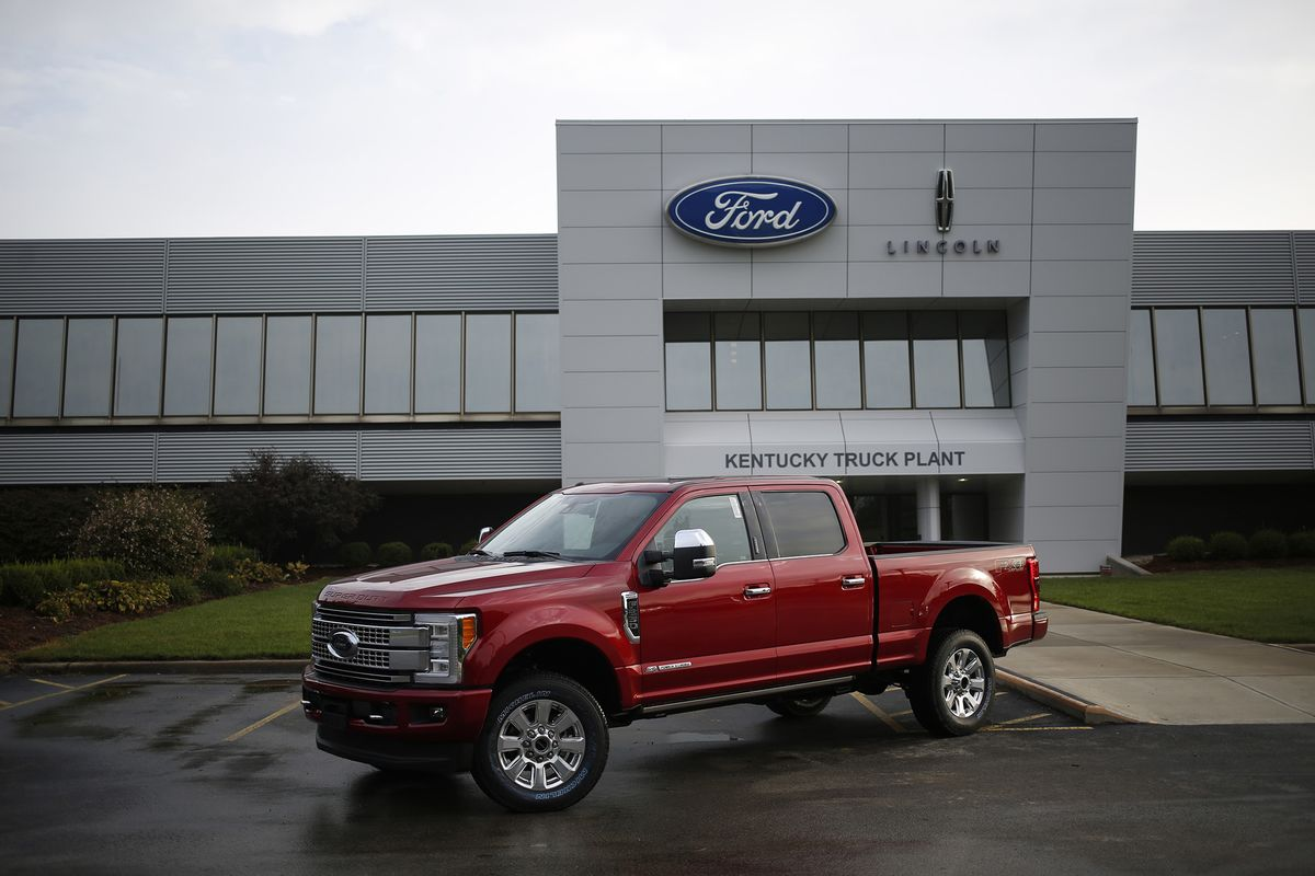 Ford Sued By Truck Owners Adding It To Diesel Defendants Bloomberg 2011 F 250 Fuel Filter Cap