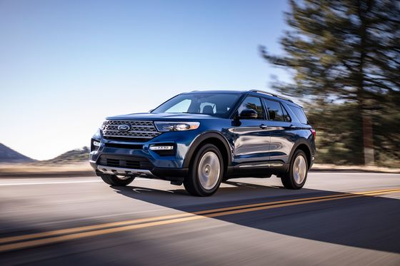 Ford Launches Leaner Explorer SUV After First Redesign in a Decade