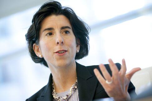 Rhode Island Treasurer Gina Raimondo