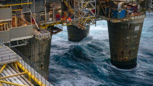 Tour Of Statoil ASA's Oseberg Gas Drilling Platform