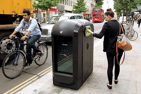 London's Bombproof Garbage Cans Lose Their Trashy Tracking