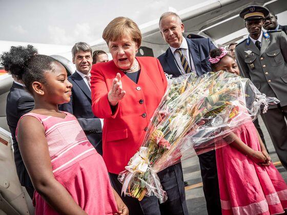 Merkel Pledges Funding for Islamist-Militant War in Burkina Faso